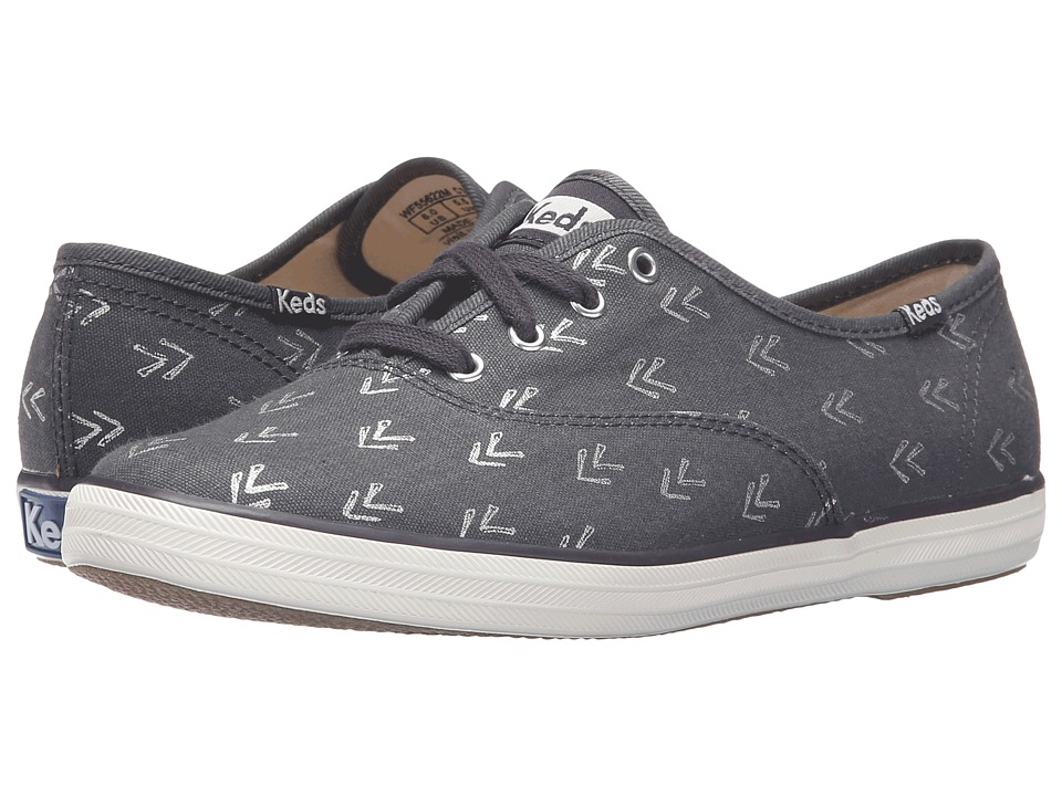 Keds - Champion Arrow (Dark Gray) Women's Lace up casual Shoes