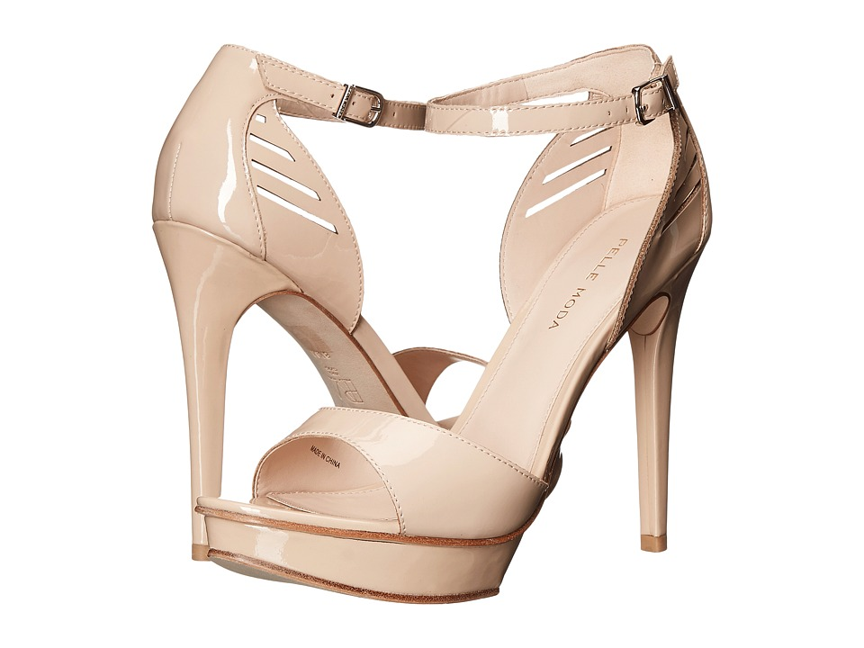 Pelle Moda - Fenton (Nude Patent) High Heels