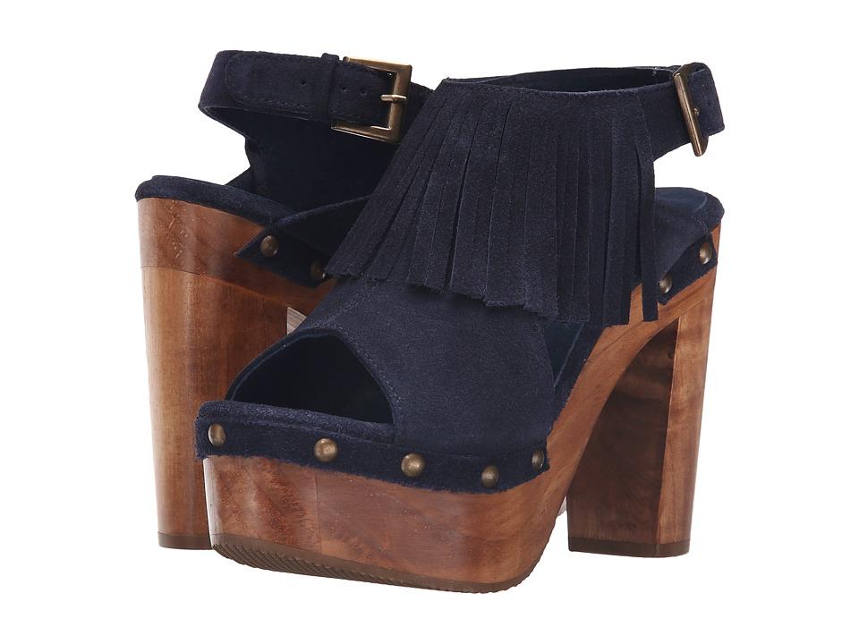Cordani Tijuana (Navy Suede) High Heels
