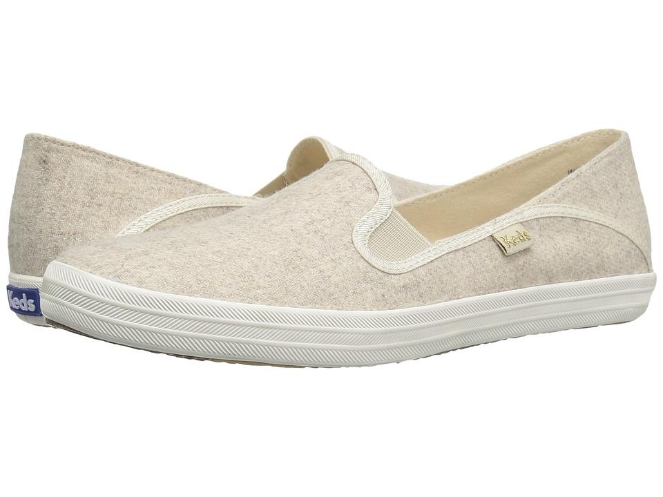 Keds - Crashback Wool (Oatmeal) Women's Slip on Shoes