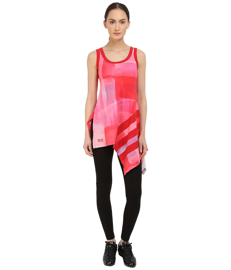 adidas Y-3 by Yohji Yamamoto - Aop Stripe Tank Top (Aop Liquid) Women's Sleeveless