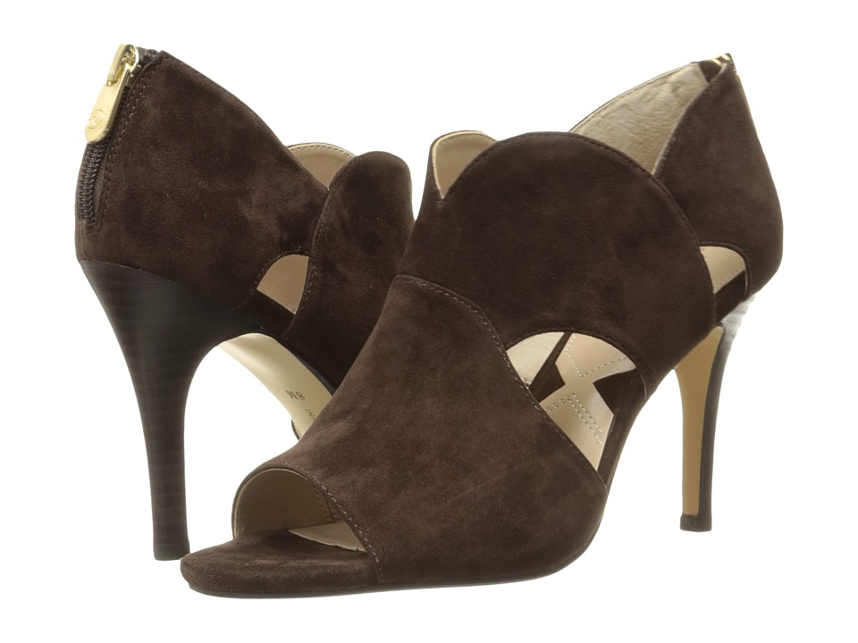 Adrienne Vittadini - Gerlinda (Dark Chocolate Kid Suede) Women's Shoes