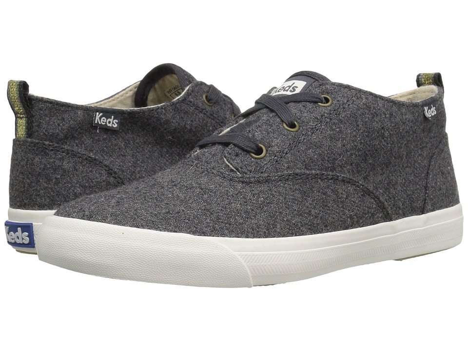 Keds - Triumph Mid Wool (Graphite) Women's Lace up casual Shoes