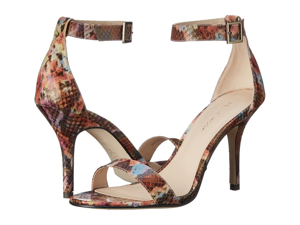 Pelle Moda Kacey 2 (Floral Snake Textile) High Heels