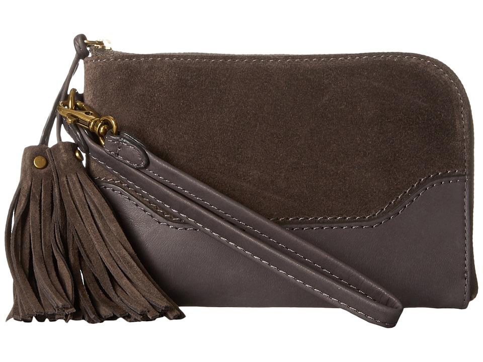 Frye - Paige Wristlet (Smoke 1) Wristlet Handbags