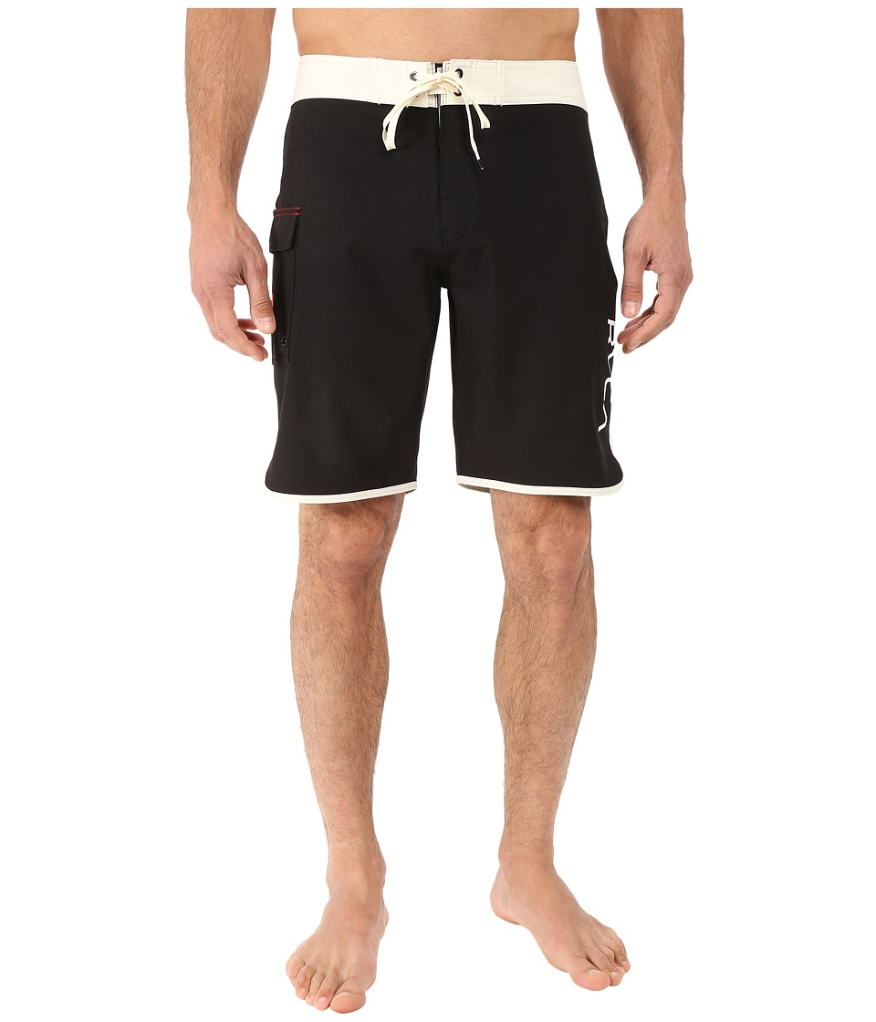 RVCA - Eastern 20 Trunks (Vanilla) Men's Swimwear