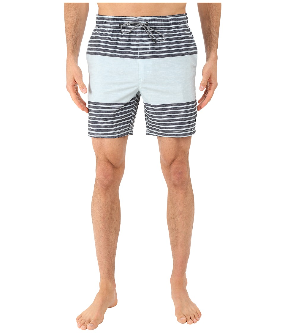 RVCA - Sinister Elastic Hybrid Trunk (Carbon) Men's Shorts