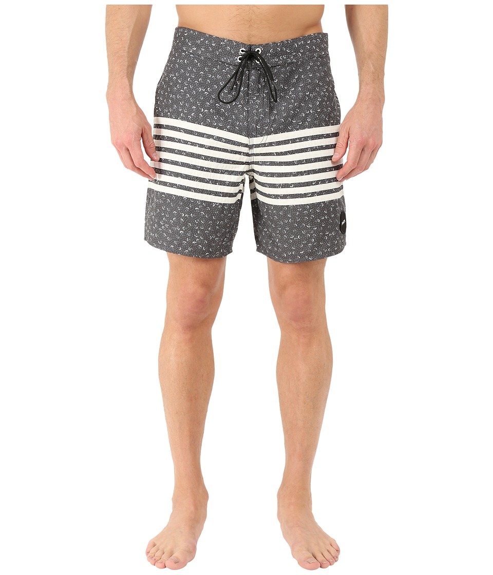 RVCA - Sin in Peace Trunk (Black) Men's Swimwear
