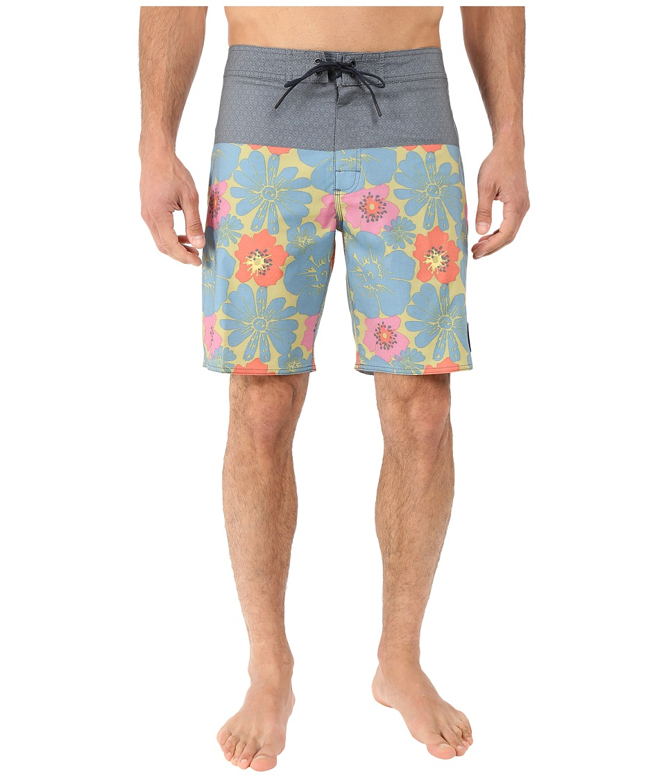 RVCA - Ashbury Trunk (Carbon) Men's Swimwear