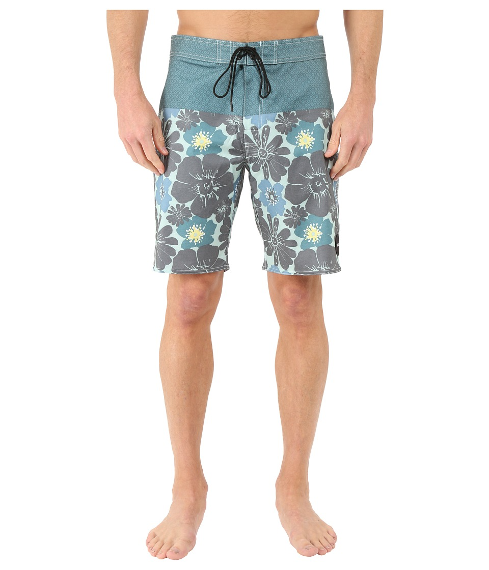 RVCA - Ashbury Trunk (Pacific) Men's Swimwear