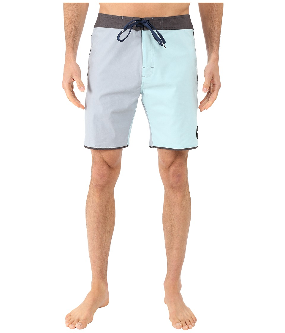 RVCA - South Eastern Trunk (Monument) Men's Swimwear