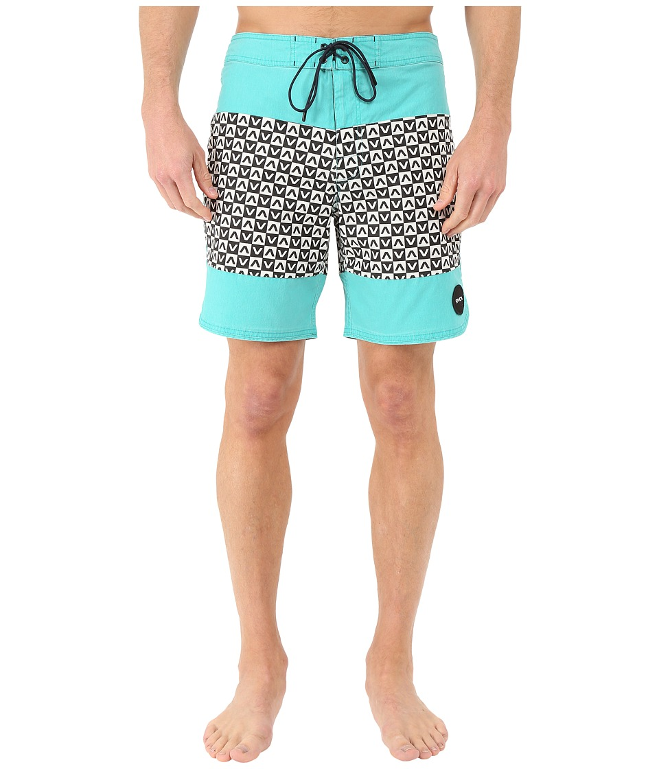 RVCA - Va Classic Trunk (Baltic) Men's Swimwear