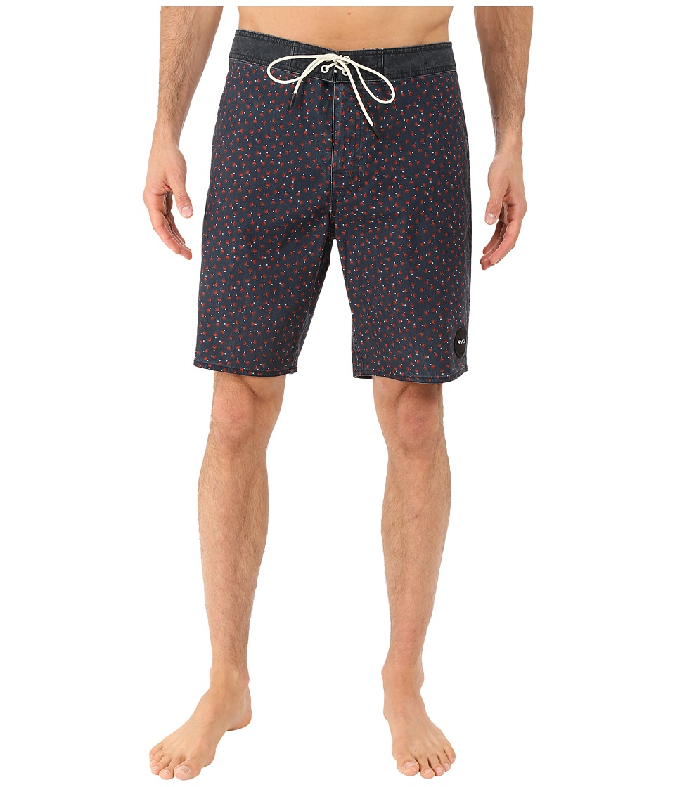 RVCA - Particle Trunk (Cinabar) Men's Swimwear