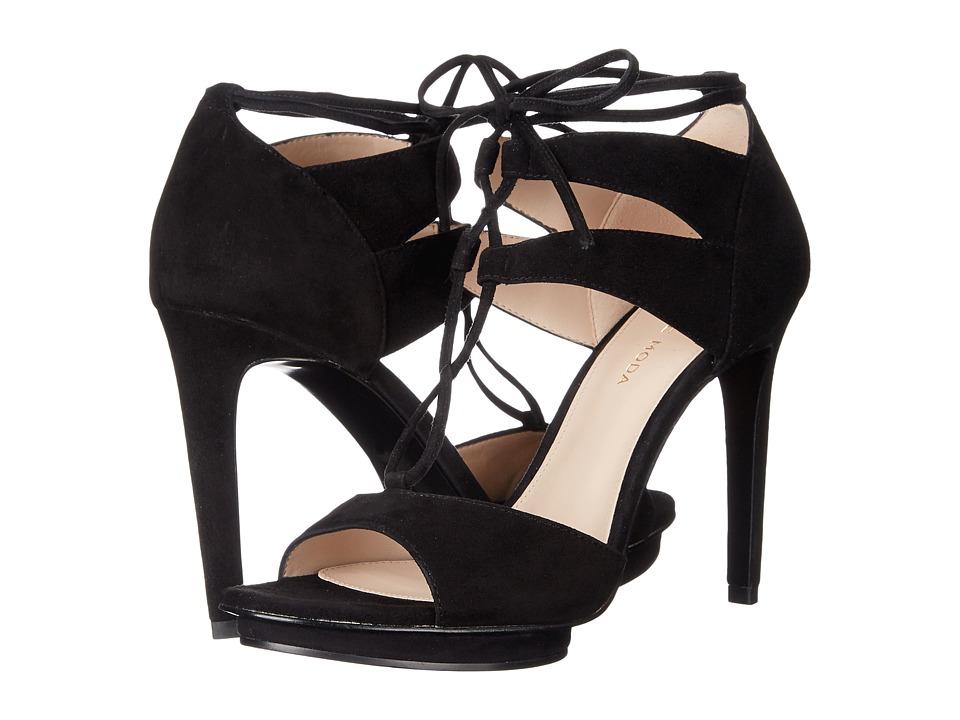 Pelle Moda - Talbot (Black Kid Suede) High Heels