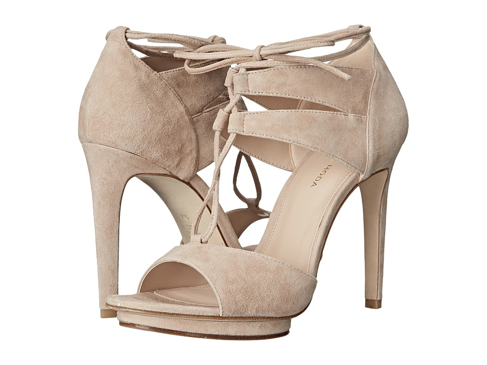 Pelle Moda - Talbot (Blush Kid Suede) High Heels