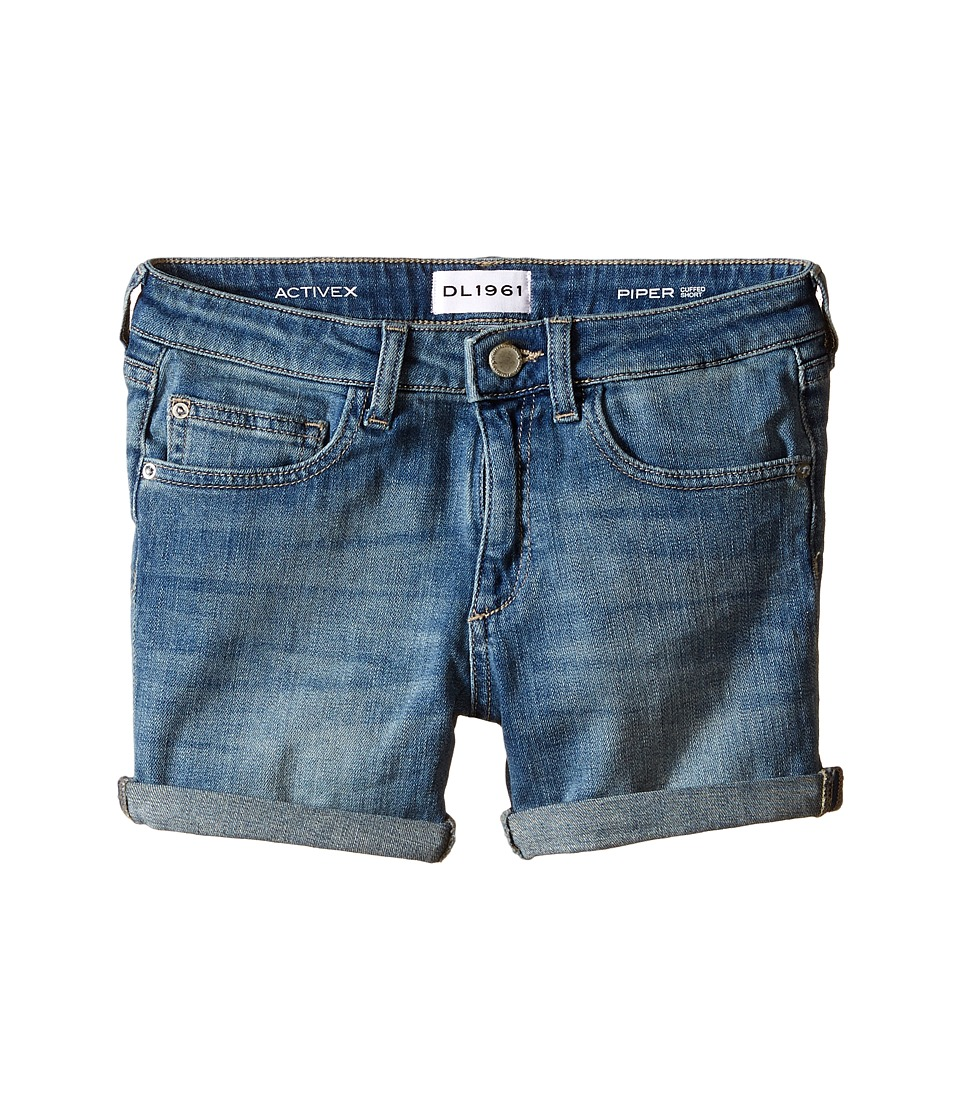DL1961 Kids - Piper Denim Cuffed Shorts in Granola (Big Kids) (Granola) Girl's Shorts