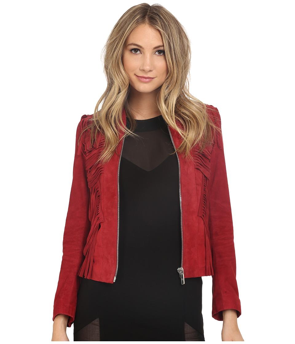 Nour Hammour - Fallaway (Crimson) Women's Coat