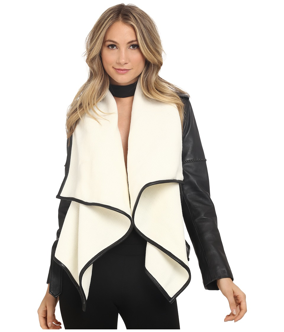 Nour Hammour - The Hours (Black/Off-White) Women's Coat