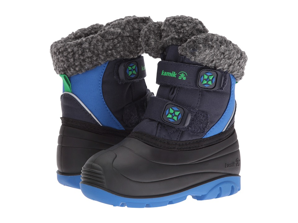 Kamik Kids Clover (Toddler) (Navy) Boys Shoes