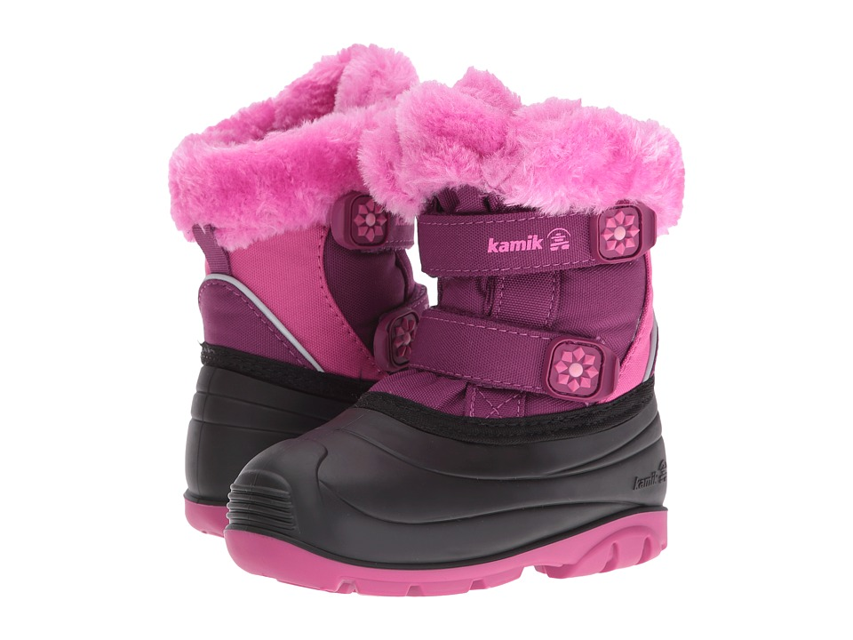 Kamik Kids - Clover (Toddler) (Plum) Girls Shoes