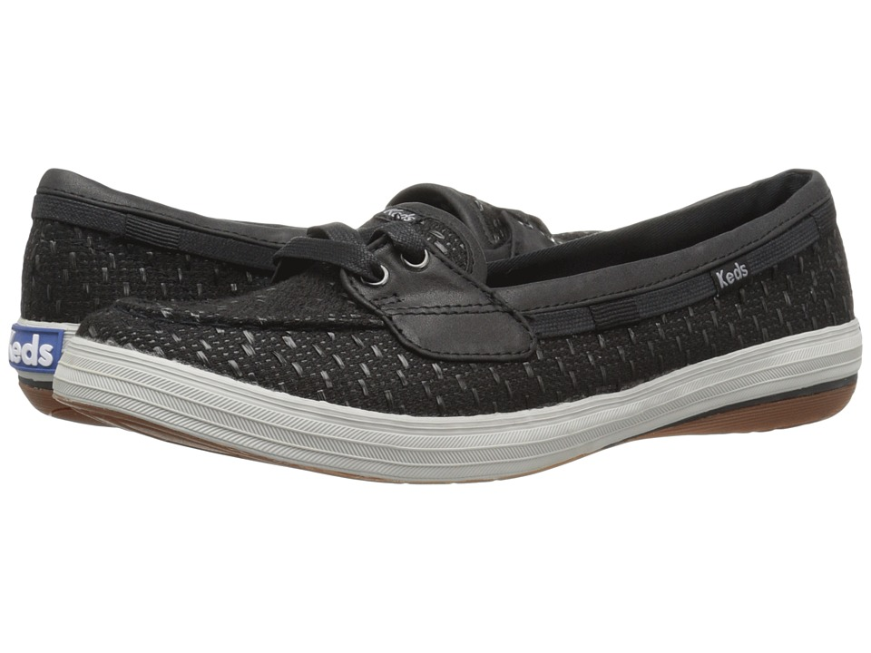 Keds - Glimmer (Black) Women's Lace up casual Shoes