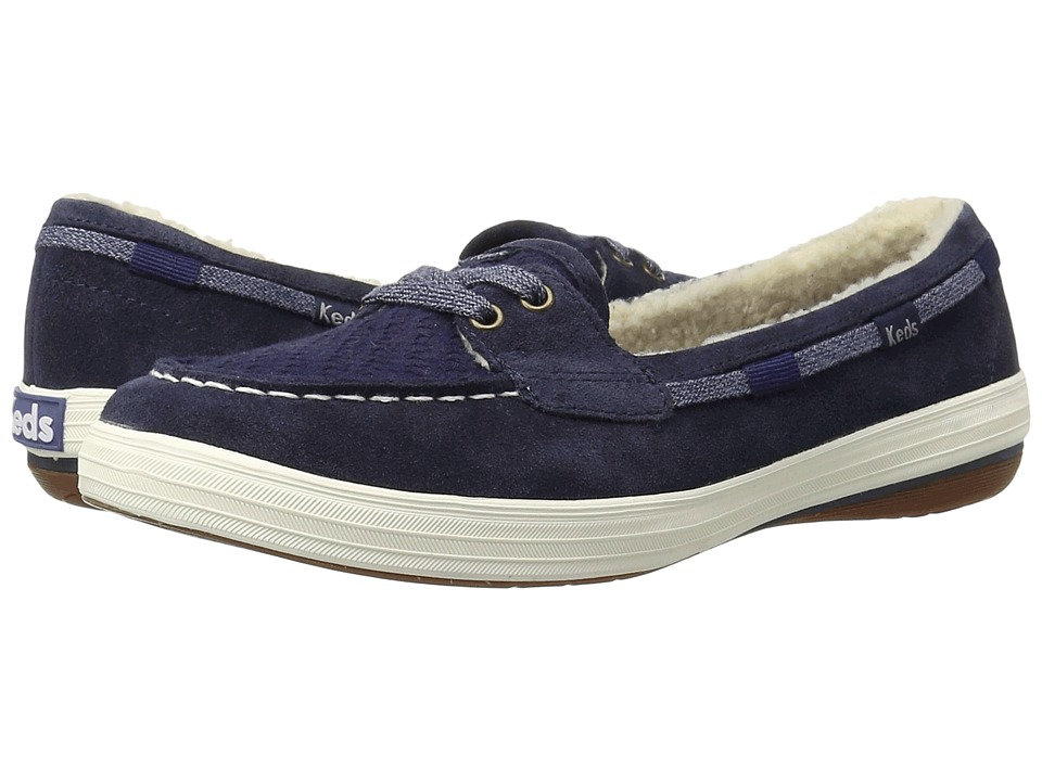 Keds Glimmer (Peacoat Navy Suede) Women