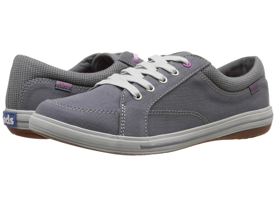 Keds - Vollie LTT (Charcoal Canvas) Women's Lace up casual Shoes
