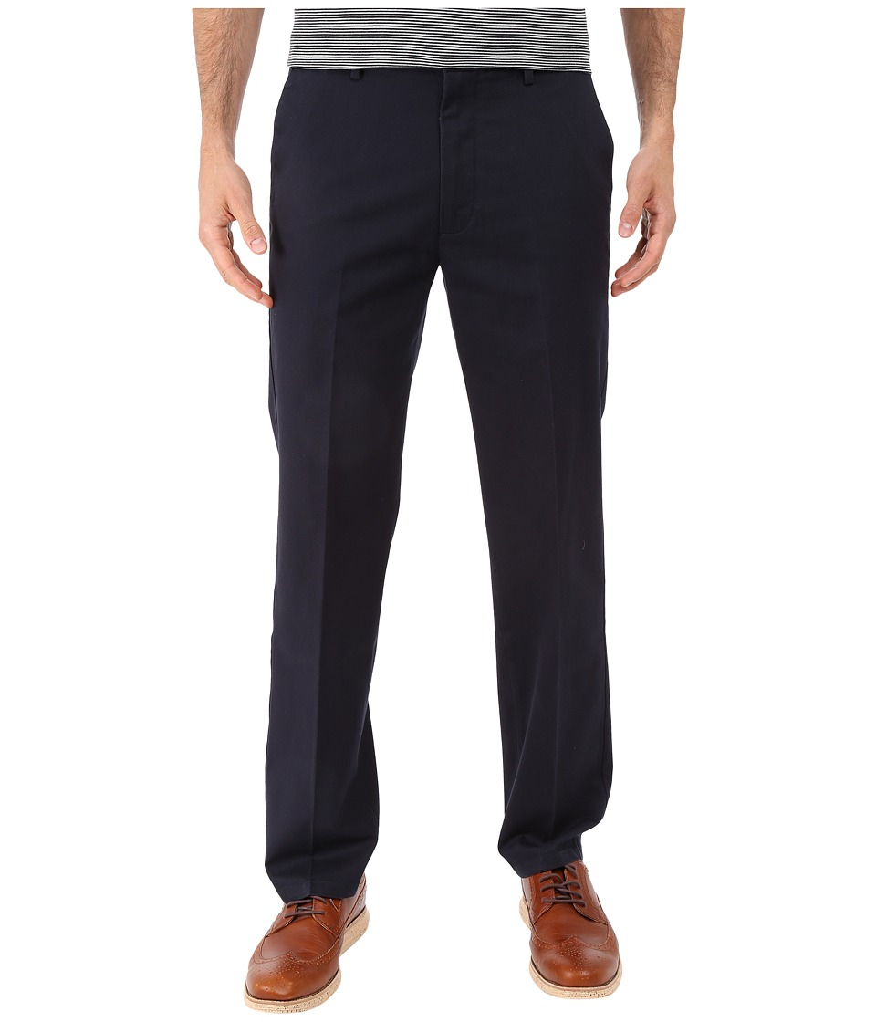 Dockers Men's - Signature Khaki D1 Slim Fit Flat Front (Dockers Navy) Men's Dress Pants