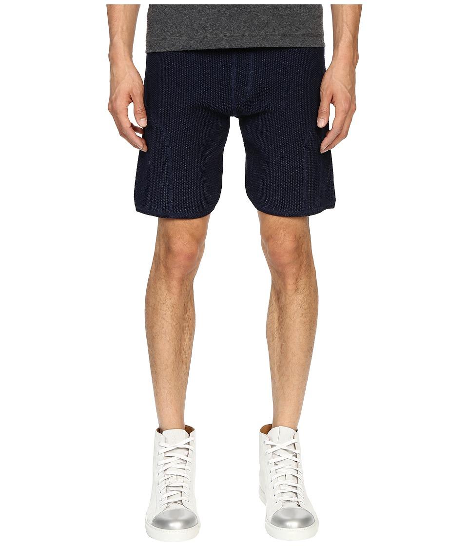 Matiere - Soren Knit Shorts (Indigo) Men's Shorts