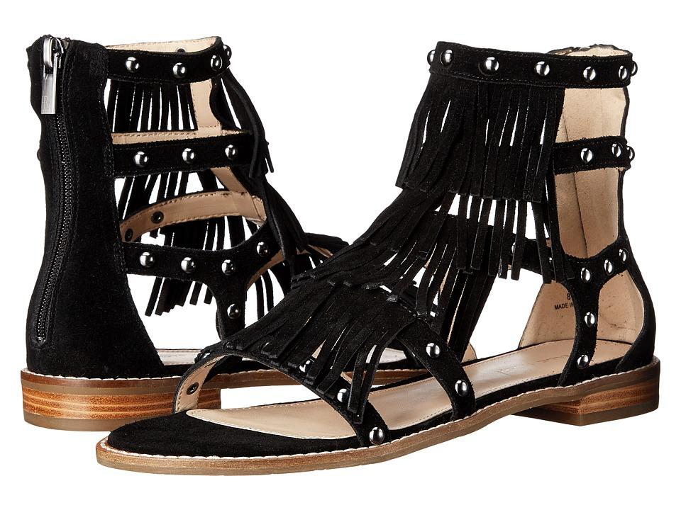 Pelle Moda Helen 2 (Black Calf Suede) Women