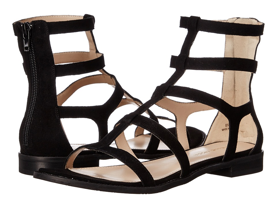 Pelle Moda - Helen (Black Kid Suede) Women's Shoes