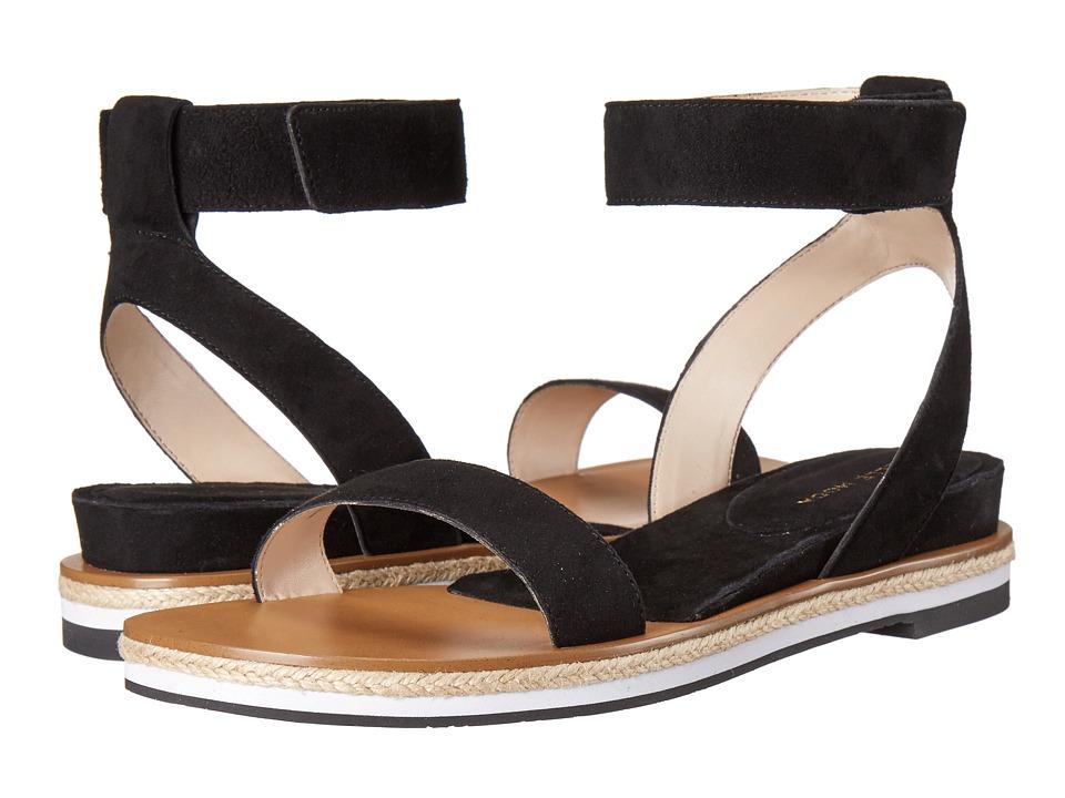 Pelle Moda - Janis (Black Kid Suede) Women's Sandals