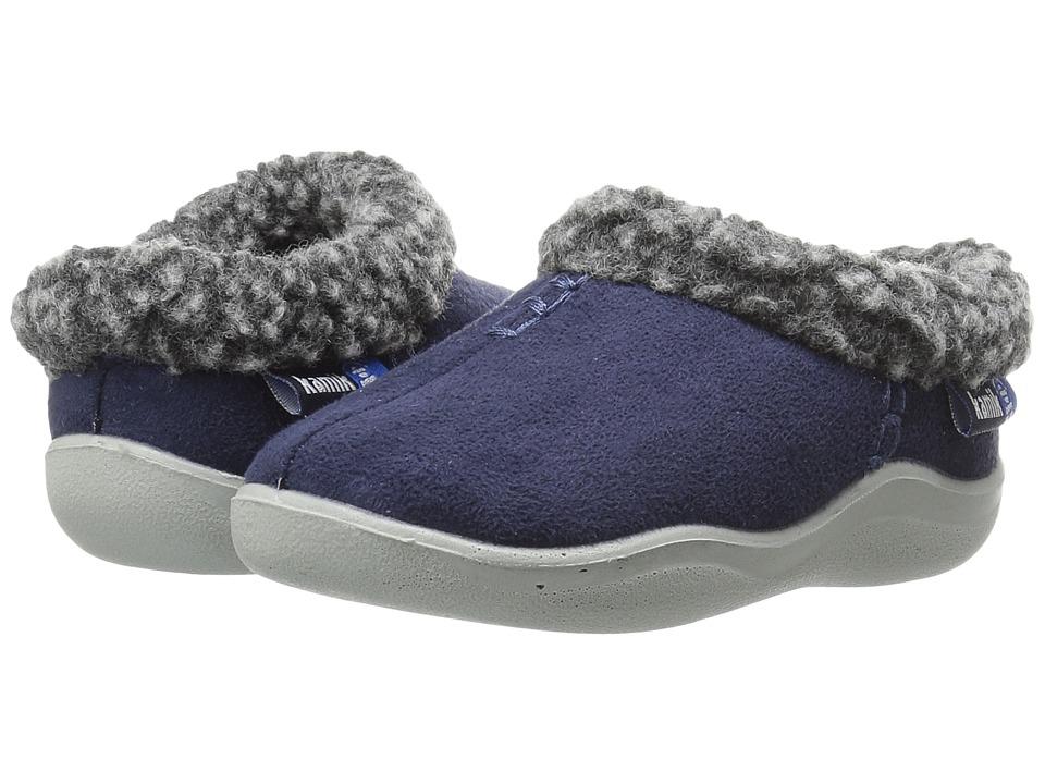 Kamik Kids - Cozymanor (Toddler/Little Kid/Big Kid) (Navy 1) Boy's Shoes