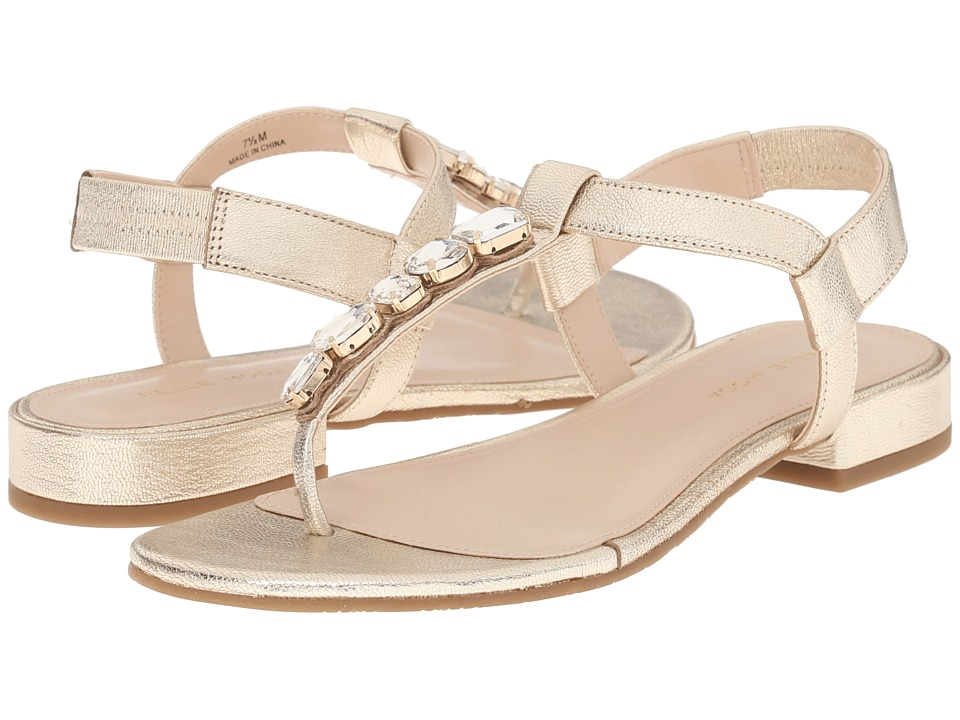 Pelle Moda - Venice (Platinum Washed Metallic Leather) Women's Sandals
