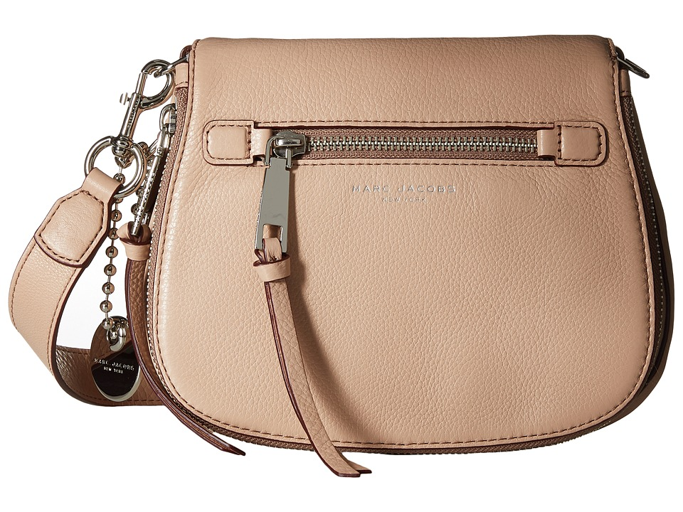 Marc Jacobs - Recruit Small Saddle Bag (Nude) Handbags