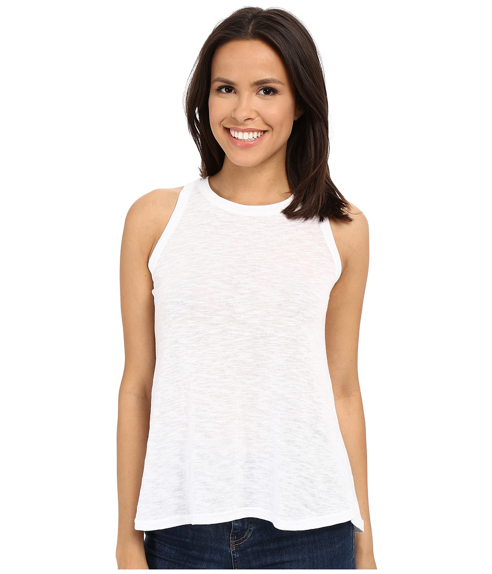 Stetson - Burnout Muscle Tank (White) Women's Sleeveless