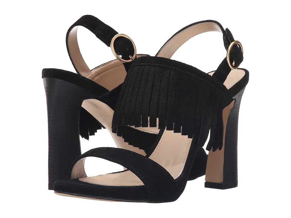 Pelle Moda - Nora (Black Calf Suede) High Heels