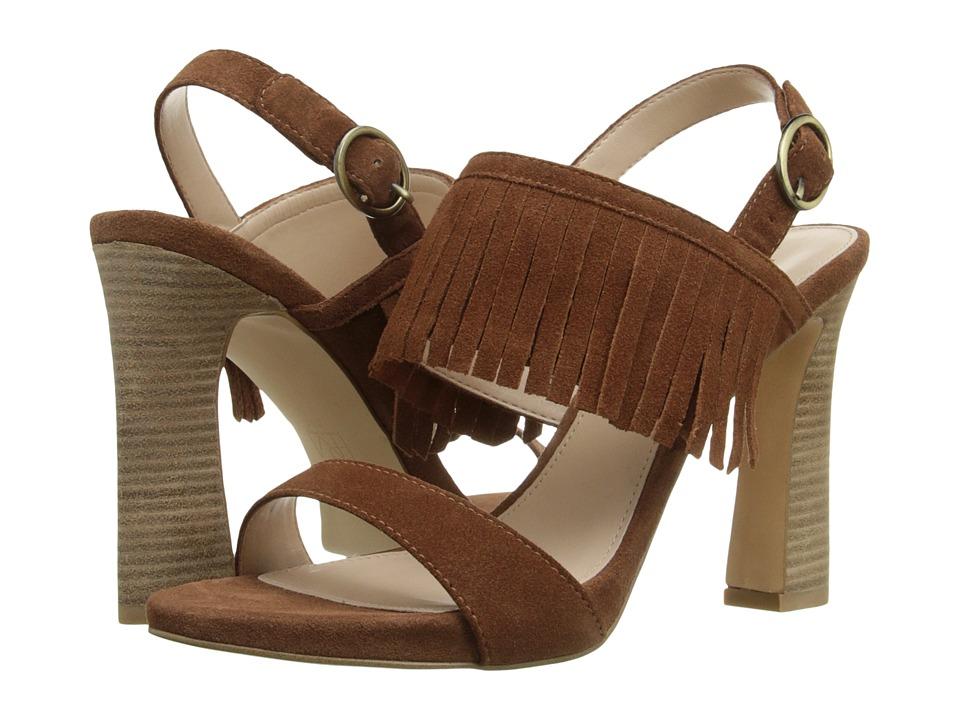 Pelle Moda - Nora (Cognac Suede) High Heels
