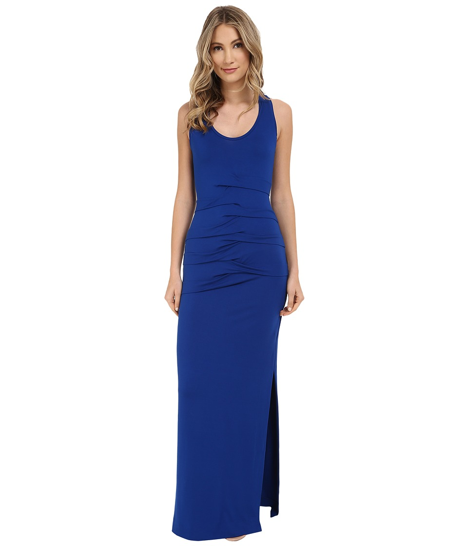 Nicole Miller - Simple Maxi Dress (Cobalt) Women's Dress