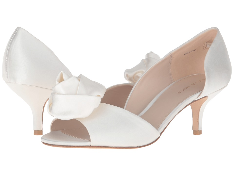 Pelle Moda - Tessa (White Silk) Women's Shoes