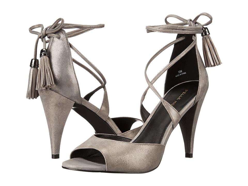 Pelle Moda - Ruel (Pewter Shimmer Suede) Women's Shoes