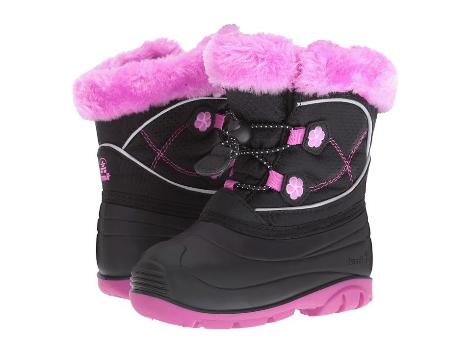 Kamik Kids Pebble (Toddler) (Black) Girls Shoes