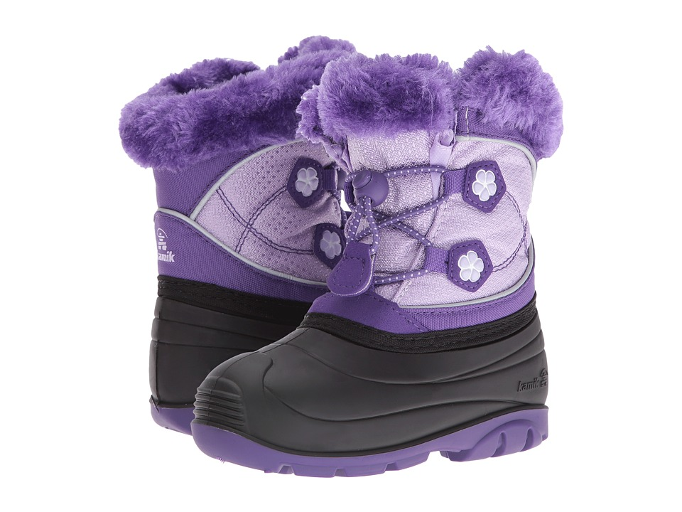 Kamik Kids - Pebble (Toddler) (Purple/Violet) Girls Shoes