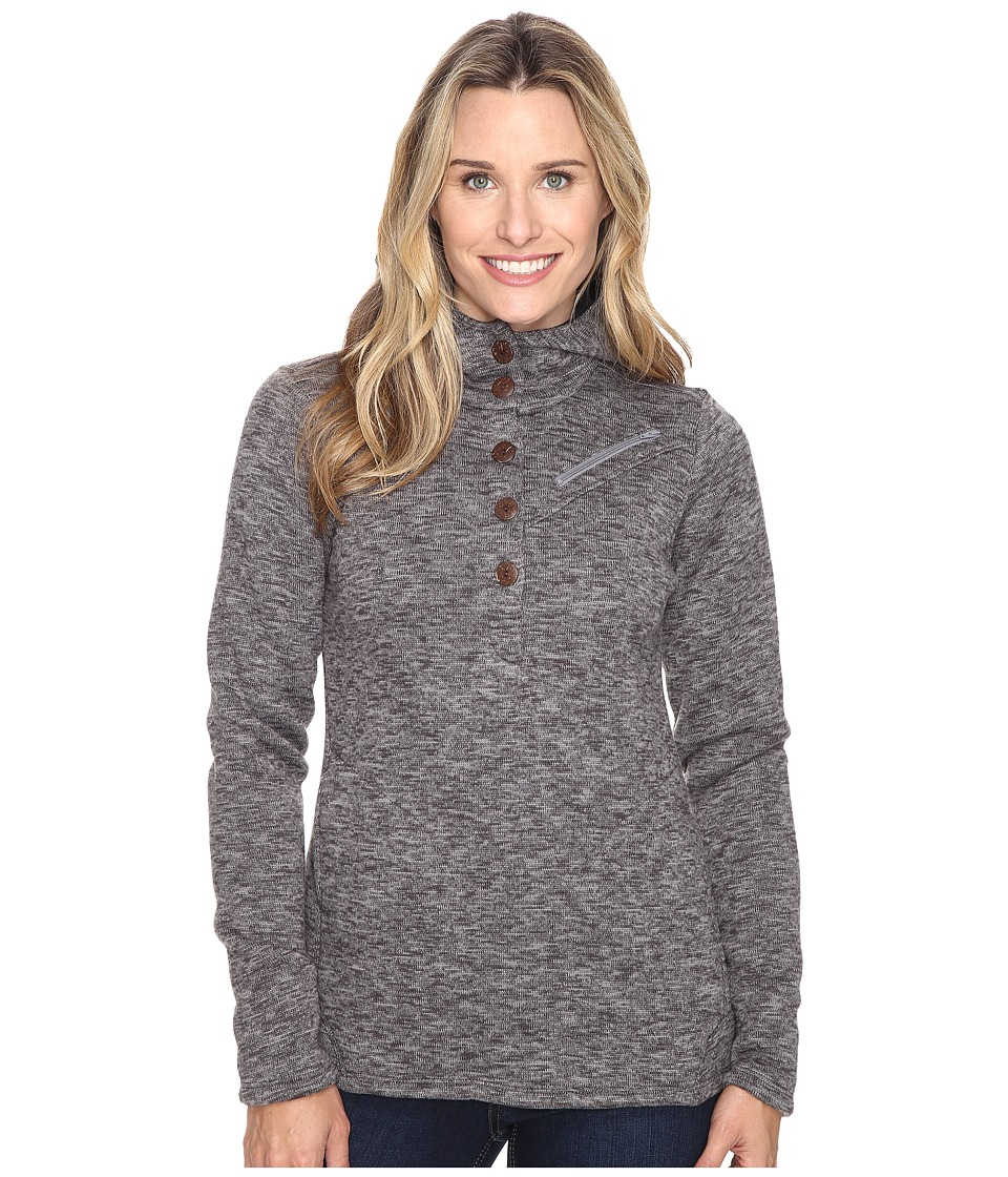 Stonewear Designs - Haze Hoodie (Heather Gray) Women's Sweatshirt