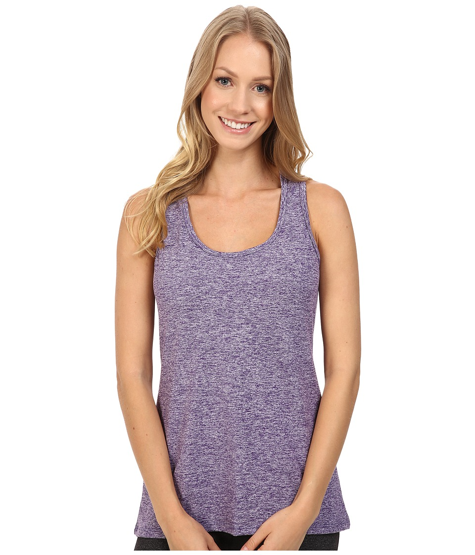 Stonewear Designs - Vinyasa Tank Top (Petunia Heather) Women's Sleeveless