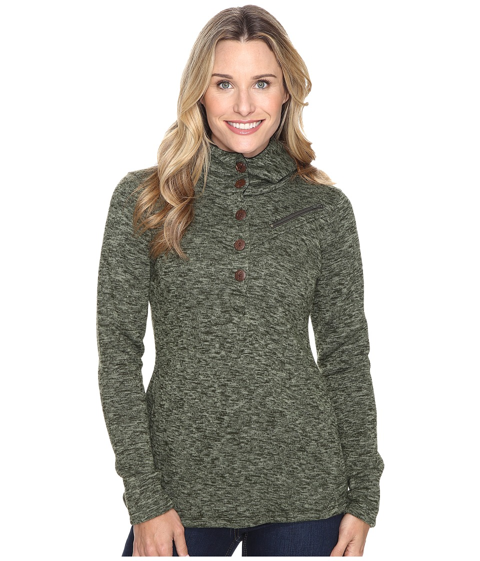 Stonewear Designs - Haze Hoodie (Forest Green) Women's Sweatshirt