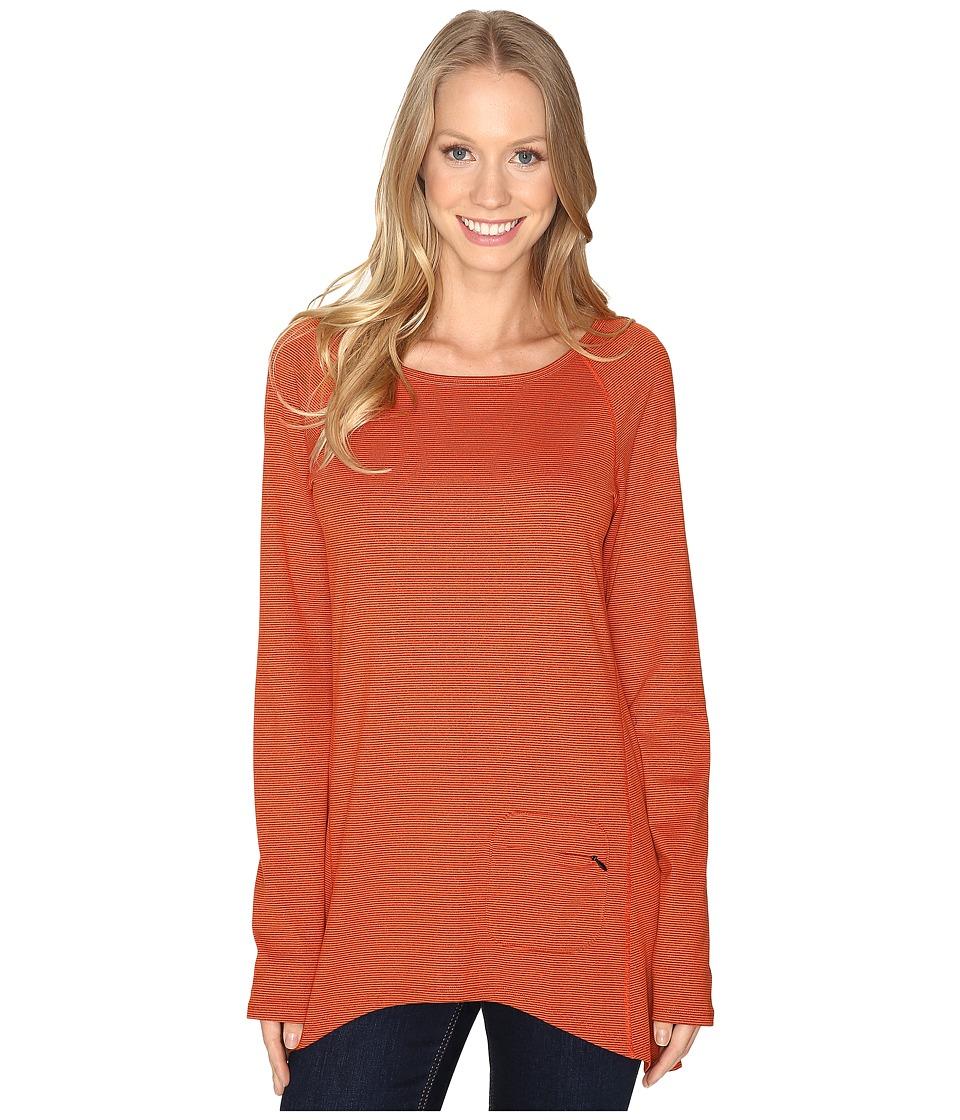 Stonewear Designs Cassanna Pullover (Autumn Stripe) Women