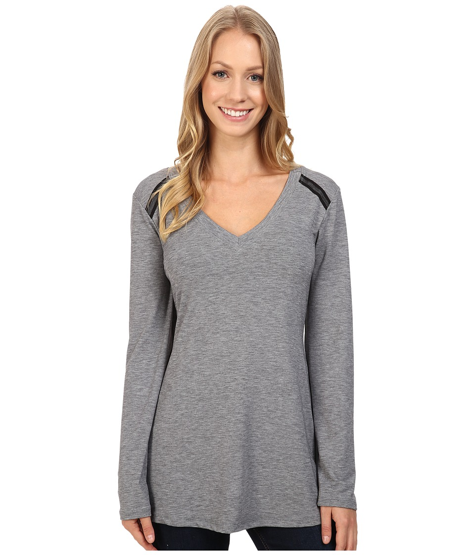 Stonewear Designs - Salida Tunic (Heather Gray) Women's Blouse