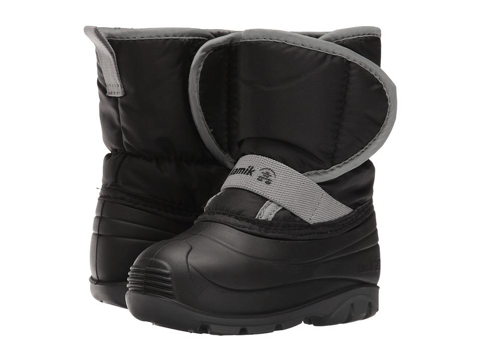 Kamik Kids - Pika (Toddler) (Black) Kids Shoes
