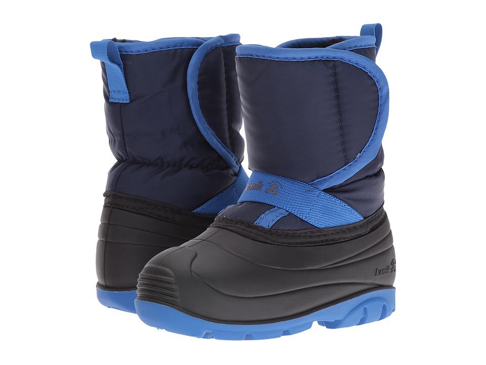 Kamik Kids - Pika (Toddler) (Navy) Boys Shoes